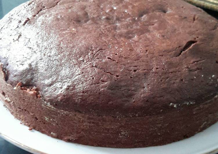 Cake Pisang Coklat (irit telur)