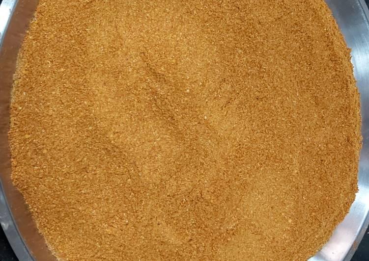 Recipe of Favorite Sambar powder