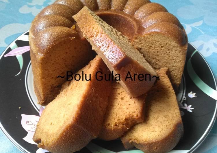 Bolu Gula Aren(Gula Merah/Gula Jawa)