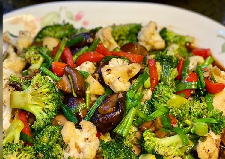 Brokoli & Cendawan Shitake Sos Tiram