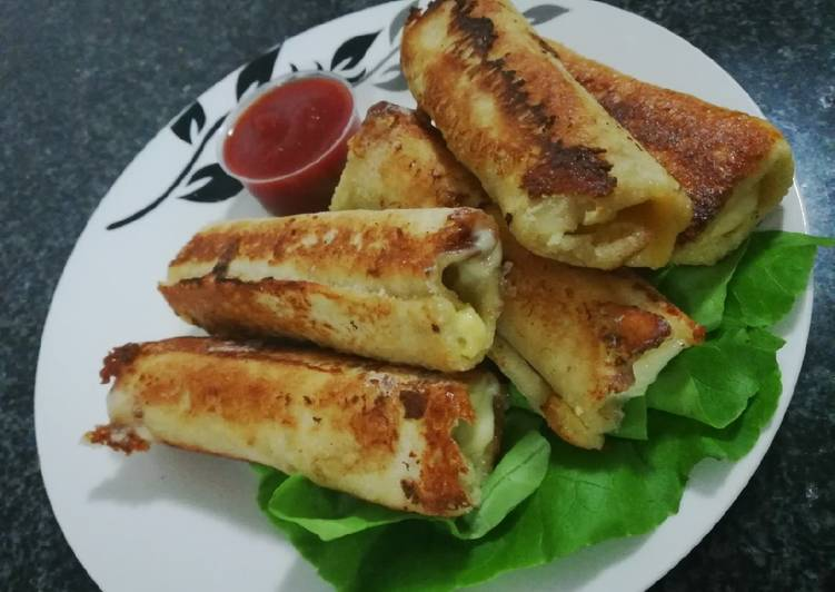Steps to Prepare Favorite French roll toast