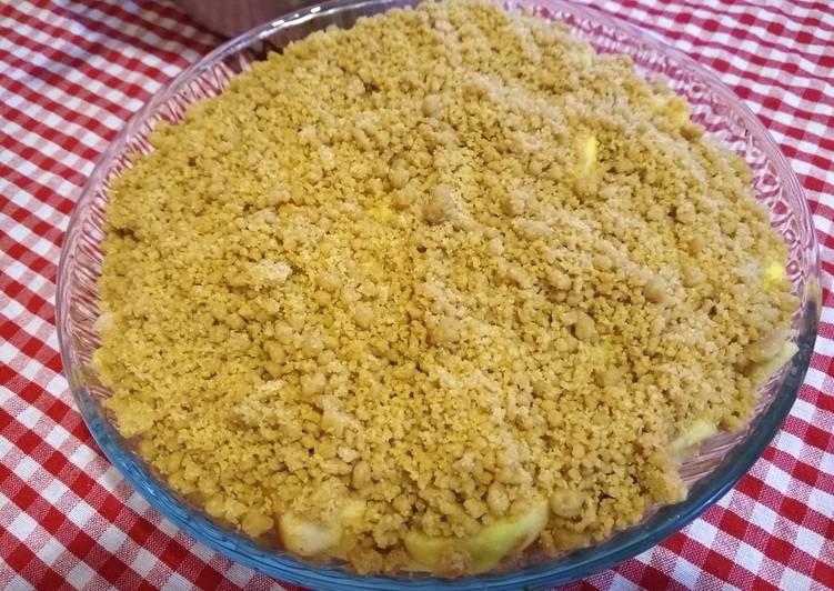Recipe of Super Quick Homemade Helen's Apple Crumble