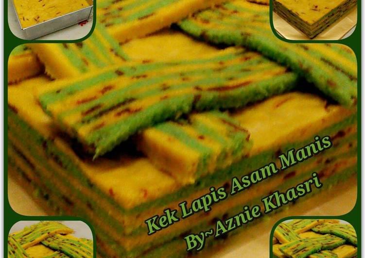 Resipi Kek Lapis Asam Manis Oleh Aznie Khasri Cookpad