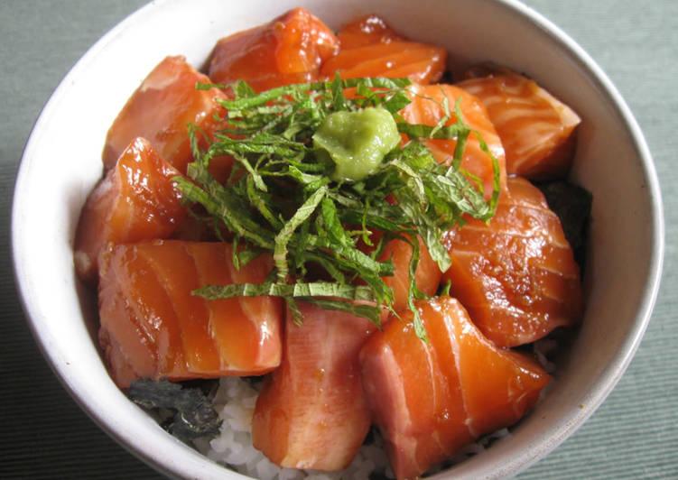 How to Prepare Speedy Sashimi 'Zuké Don'