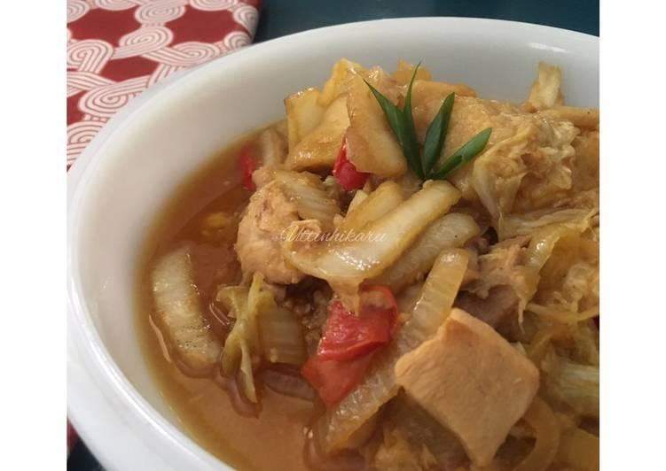 Ayam Gongso Semarang (#SiapRamadan #PekanInspirasi #AhlinyaAyam)
