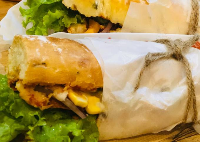 Whosayna's Pizza Subway Sandwich