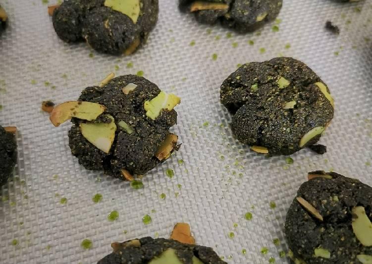 Cara membuat Simple Keto Matcha Cookies