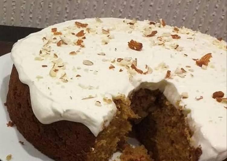 Recipe: Delicious Carrot cake