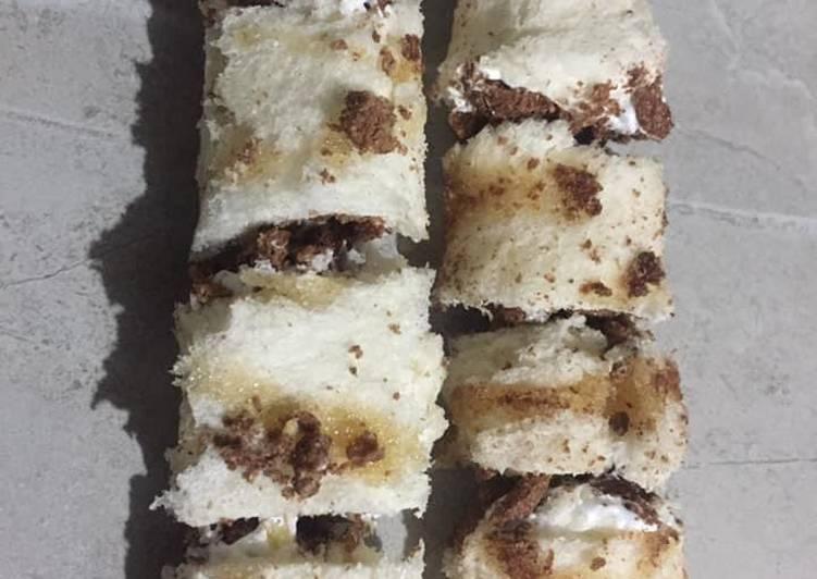 Bread swiss roll