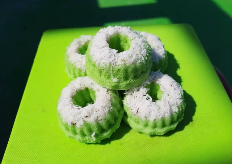 Kue Putri Ayu Pandan (takaran sendok)