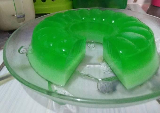 Puding Susu Melon