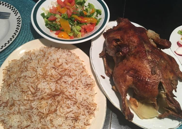 Copy of Roasted Duck on a bed of carrots