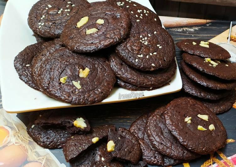 Resep Crunchy Brownies Cookies yang Enak