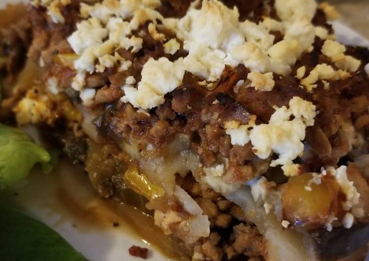 How to Prepare Perfect Eggplant & potato bake