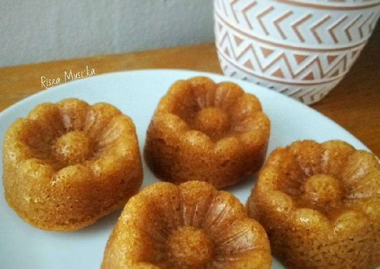 Simple Way to Make Quick Caramel Steamed Cake (Bolu Sakura)