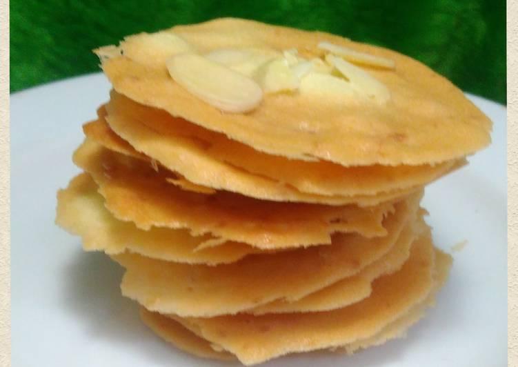 Almond Crispy Recook mba @Faikha Fairus 😍😍😍