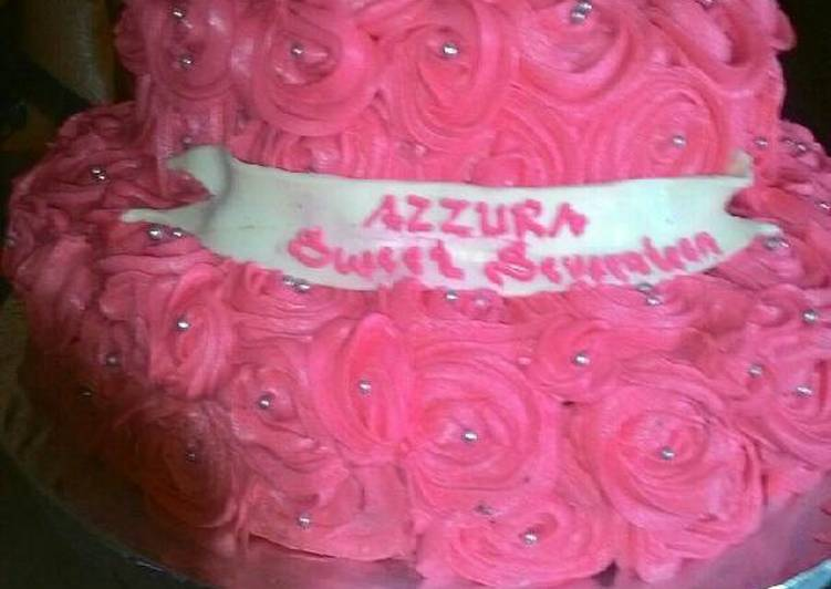 Birthday cake ala ndp - cookandrecipe.com