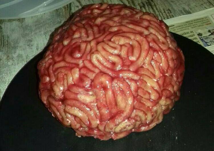 Recette Des Gâteau cervelle au chocolat et à la chantilly au mascarpone