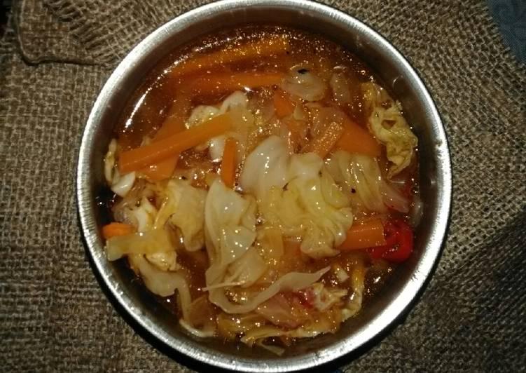 Cara Gampang Menyiapkan Sayur kuah pedas Anti Gagal