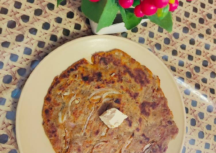 Foods That Make You Happy Leftover dal Paratha