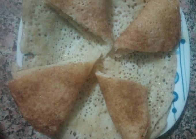 Crêpe arabe (baghrir)