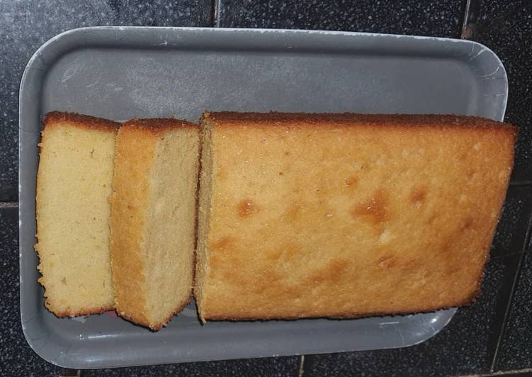 Steps to Make Quick Lemon Pound Cake with a Simple Lemon Glaze