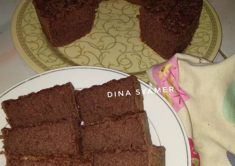 Chocolate Cake no SP, no BP (bisa utk base cake ultah)