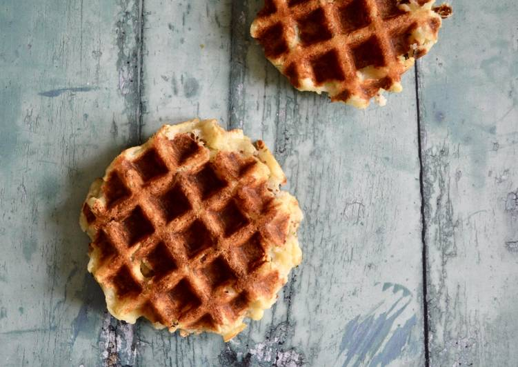 Steps to Make Favorite Potato Waffles