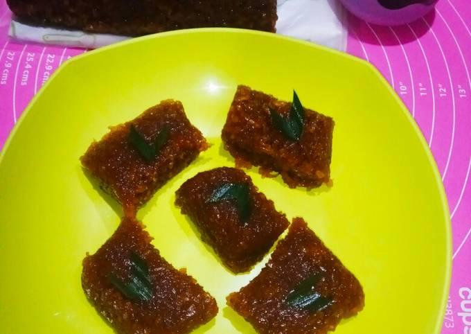 Wajik Gula merah Allaa Dapur Olive