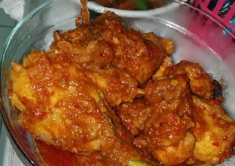 Rendang ayam praktis