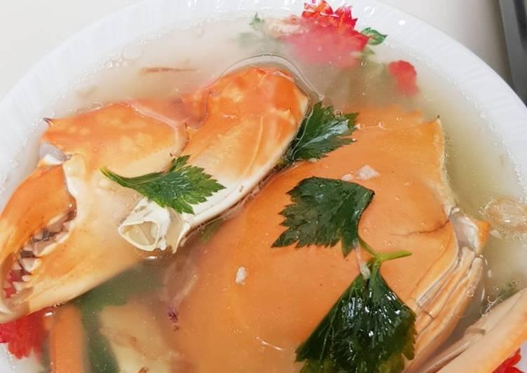 Sop kepiting simple mudah dan enak