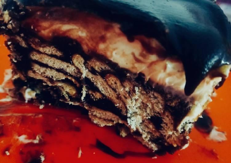 Cara Mudah Masak: Kek batik indulgence  Dirumah