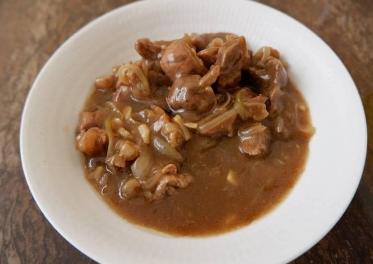 Beef Tiram Okonomi Sauce