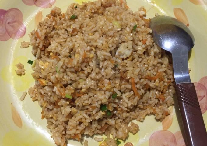 Cara Membuat Nasi Goreng Ebi, Menggugah Selera