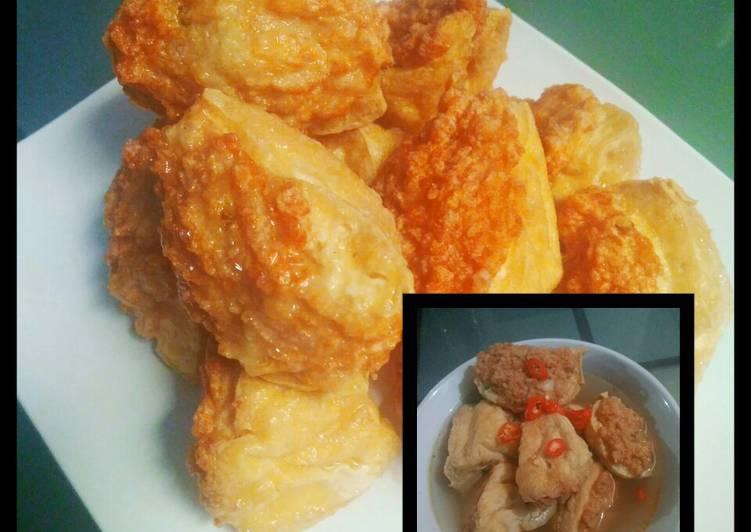 resep cara bikin Batagor Ayam Kuah