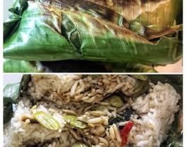 Nasi Bakar Teri Medan Pete (PART 2: memasak isian nasi bakar)
