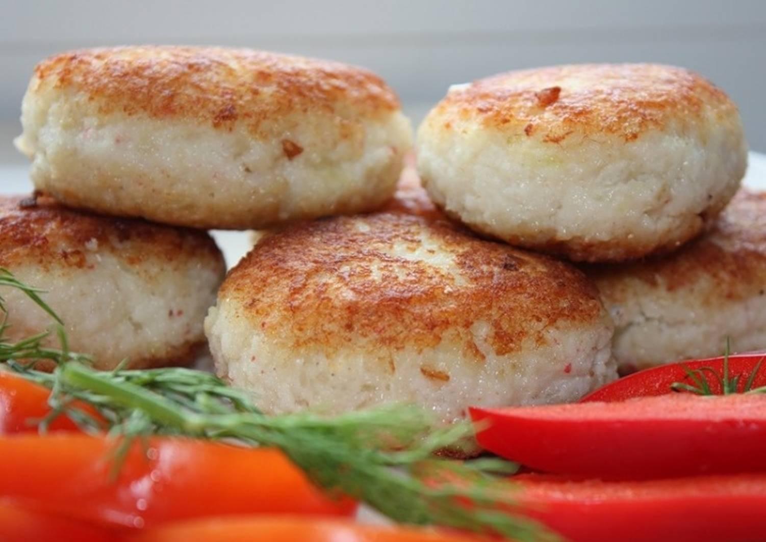 Котлеты из рыбы рецепт с фото пошагово