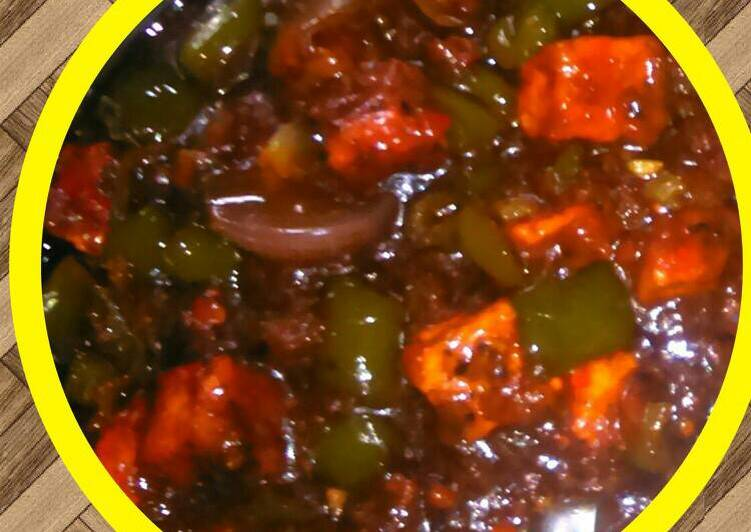 How to Prepare Perfect Cottage Cheese chilli
