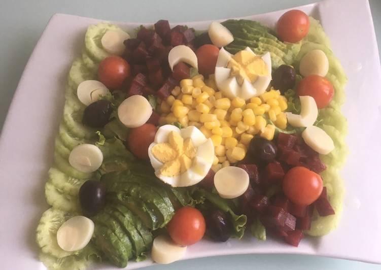 recette Salade composée le délicieux