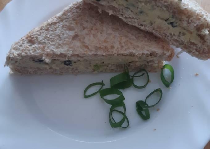 """Veganes """"Thunfisch"""" Sandwich"""