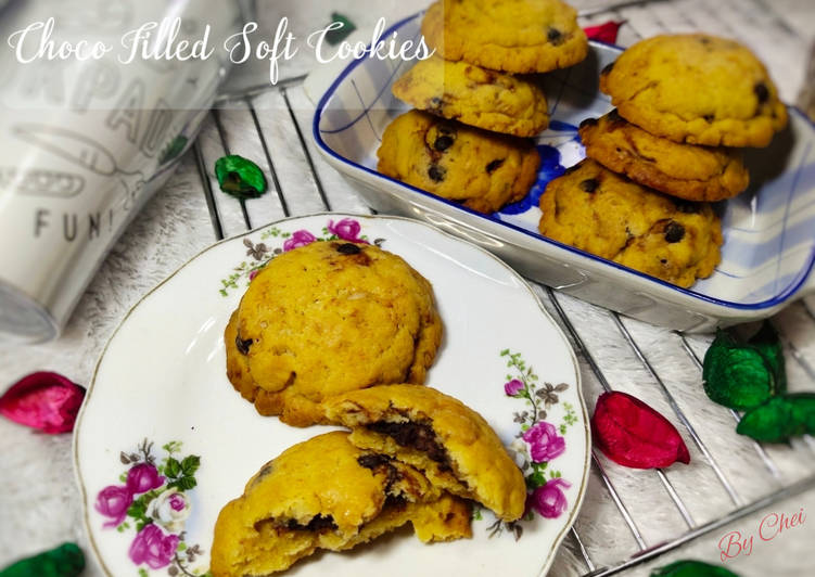 Choco Filled Soft Cookies
