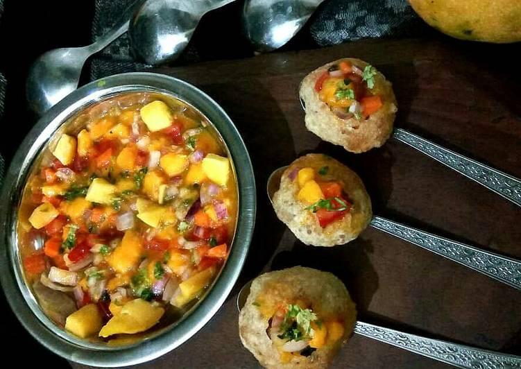 Foods That Can Make You Happy Mango Salsa panipoori