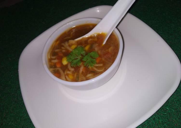 Easiest Way to Prepare Speedy Maggi Soupy noodles