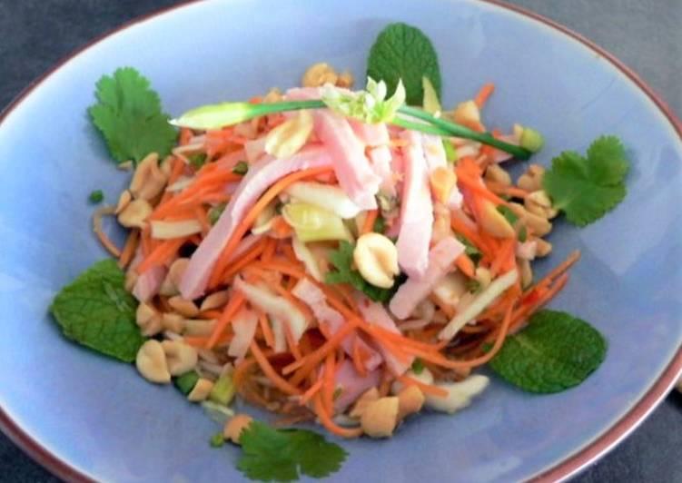 Comment Cuisiner Salade vietnamienne au porc