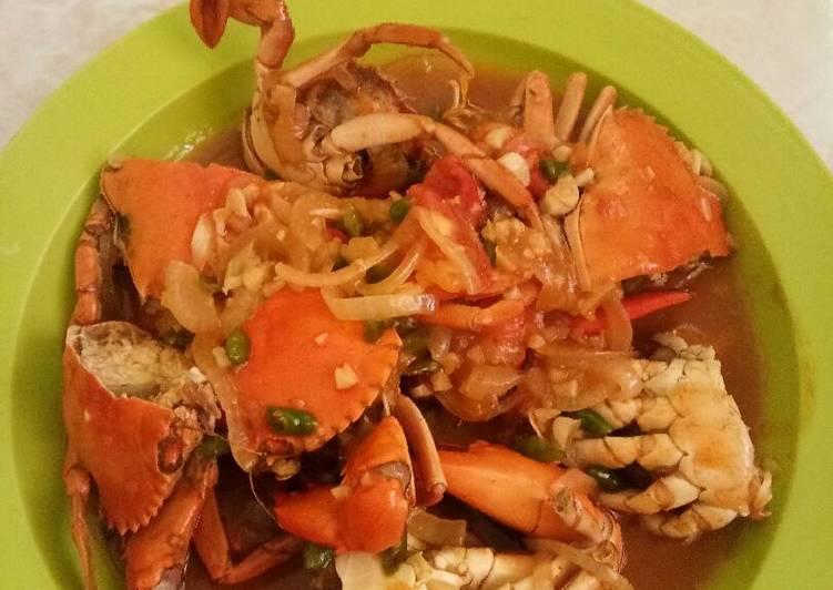 Resep Kepiting Saos Asam Manis Pedas Oleh Onimonicha Cookpad
