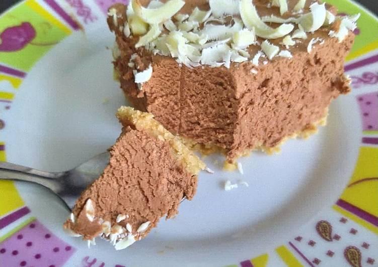 Recipe: Yummy Gâteau de mousse au chocolat