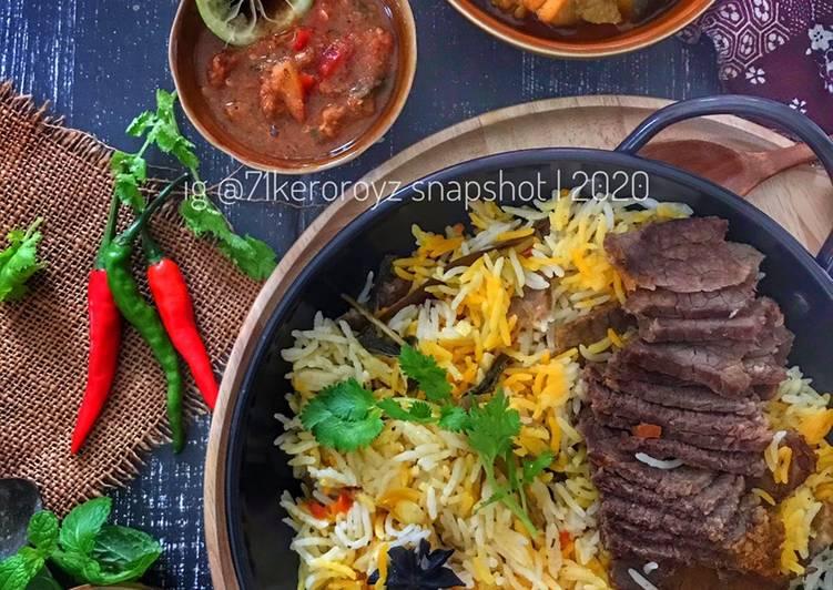 🍚🍖 Nasi Arab Daging ala Yemen - velavinkabakery.com