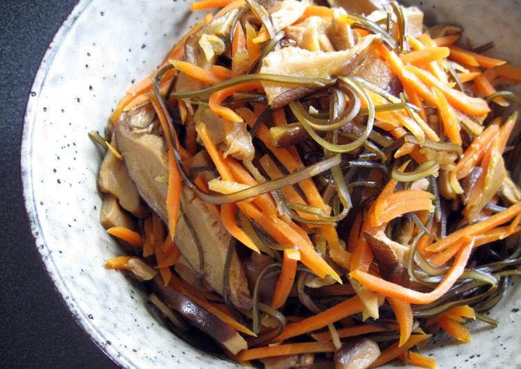 Kombu Carrot & Shiitake 'Nimono'