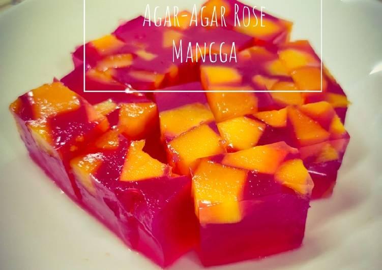 Agar-Agar Rose Mango - resepipouler.com