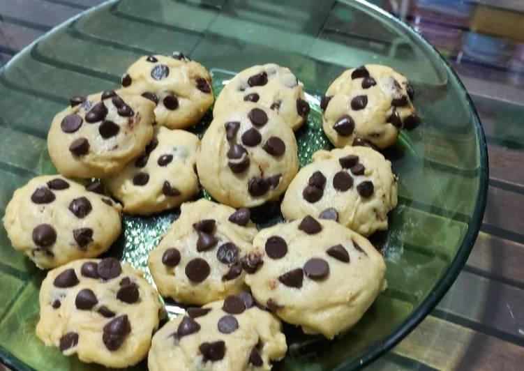 Cookies vanila chochocips simple ga pakai ribet